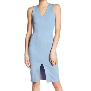 Love...ady blue bodycon dress